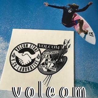 ボルコム(volcom)のVOLCOMボルコムUS限定 非売品 激レアレトロ art コラボ ステッカー(サーフィン)