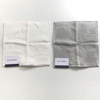 marimekko - 新品✨マリメッコ ハンドタオル タオルハンカチ2枚セット