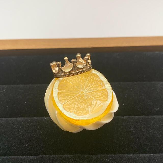 Q-pot.(キューポット)のHEXENHAUS ホイップレモンリング ハンドメイドのアクセサリー(リング)の商品写真