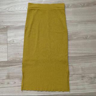 クイーンズコート(QUEENS COURT)のロングニットスカート(ロングスカート)