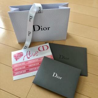 ディオール(Dior)のDior ディオール ギフトBOX ステッカー(ショップ袋)