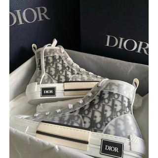 Christian Dior - Dior オブリーク スニーカー 早い者勝ち 新品未使用 インボイス付確実正規品