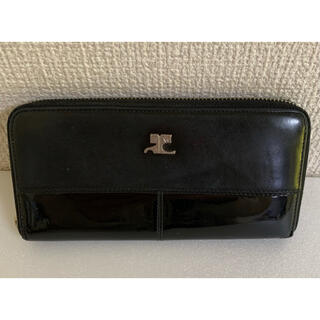 クレージュ(Courreges)の送料込★クレージュ 長財布 ラウンドファスナー Courreges(財布)
