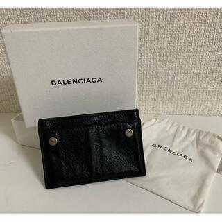 バレンシアガ(Balenciaga)の送料込★BALENCIAGA カードケース 箱、保存袋付 バレンシアガ(名刺入れ/定期入れ)