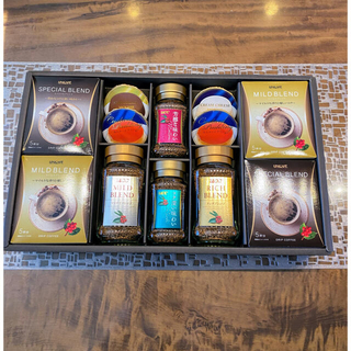 ユーシーシー(UCC)のコーヒーギフト UPU−50 UCC&ユニカフェ&プリンデザートギフト(コーヒー)