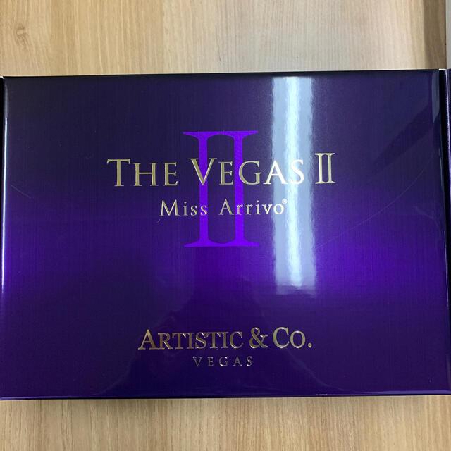 【新品】ARTISTIC&CO Miss Arrivo THE VEGAS II スマホ/家電/カメラの美容/健康(フェイスケア/美顔器)の商品写真