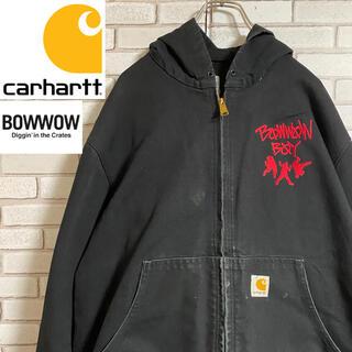 carhartt - 90s 古着 カーハート バウワウ メキシコ製 ダック地 アクティブジャケット