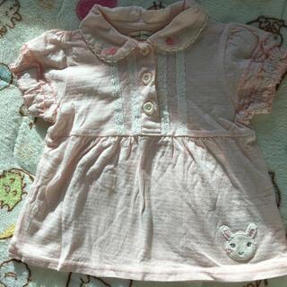 クーラクール(coeur a coeur)のクーラクール 95 半袖ブラウス ピンク(Tシャツ/カットソー)