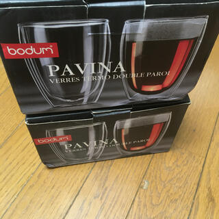 bodum - Bodum ボダム Pavina パヴィーナ 2セット 4個