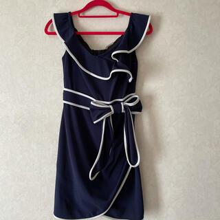 パーティー ドレス(ひざ丈ワンピース)