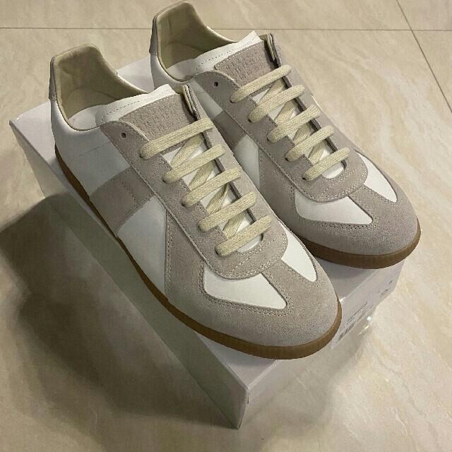 Maison Martin Margiela(マルタンマルジェラ)のMaisonMargiela メゾンマルジェラ ジャーマントレーナー スニーカー メンズの靴/シューズ(スニーカー)の商品写真