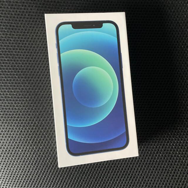 Apple(アップル)のiPhone 12 128gb ブルー シムフリー スマホ/家電/カメラのスマートフォン/携帯電話(スマートフォン本体)の商品写真