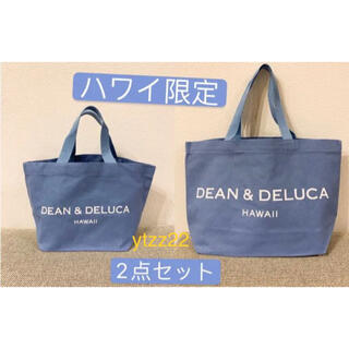 DEAN & DELUCA - DEAN&DELUCA ディーン&デルーカ トートバッグ ハワイ限定2点セット