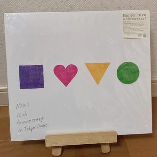 ジャニーズ(Johnny's)の❤︎ NEWS 10周年 DVD ❤︎(アイドルグッズ)