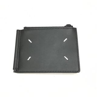 Maison Martin Margiela - 新品 Maison Margiela 4ステッチ マネークリップ 財布 ブラック