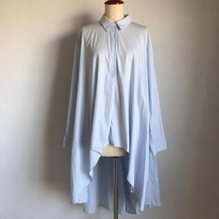 ZARA - ZARA☆バックロングテールシャツ