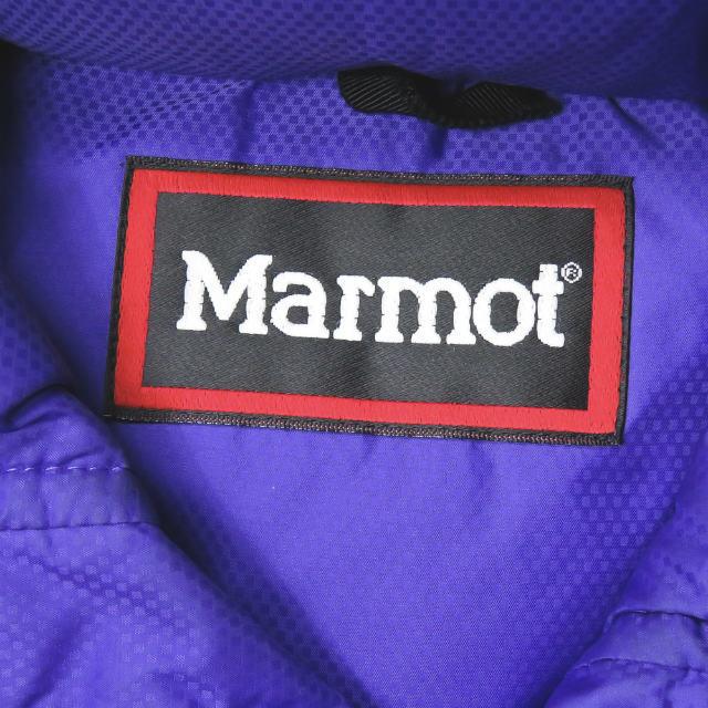 nonnative(ノンネイティブ)のnonnative x MARMOT レザーパイピング ダウンベスト メンズのジャケット/アウター(ダウンベスト)の商品写真