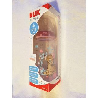 ディズニー(Disney)の【NUK】Disney Bambi 哺乳瓶(哺乳ビン用乳首)