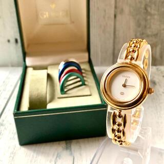 Gucci - 【電池交換済み】GUCCI グッチ 腕時計 チェンジベゼル 1100L