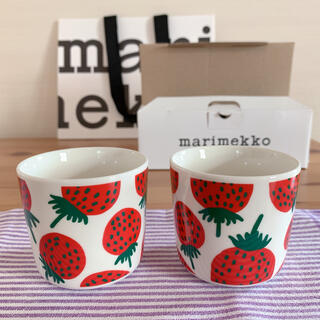 marimekko - Mansikka/ラテマグ