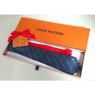 LOUIS VUITTON - ♥️LOUIS VUITTON  ヴィトン ネクタイ ダミエ