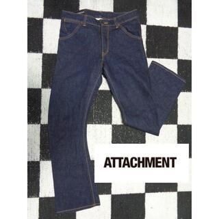 アタッチメント(ATTACHIMENT)の【アタッチメント】2デニムジーンズGパンAttachment美品(デニム/ジーンズ)