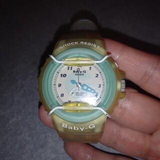 ベビージー(Baby-G)の★カシオ Baby-Gブルーに白ベルト★(腕時計)