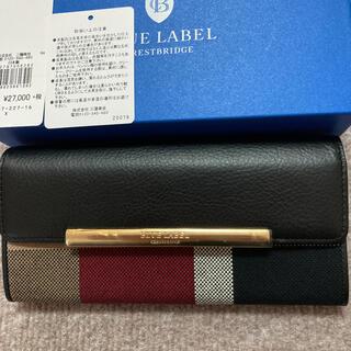 バーバリーブルーレーベル(BURBERRY BLUE LABEL)のブルーレーベルクレストブリッジ長財布(財布)