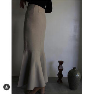 TODAYFUL - clastellar ベージュ マーメイドスカート