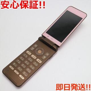 キョウセラ(京セラ)の良品中古 au KYF31 GRATINA 4G ピンク (携帯電話本体)