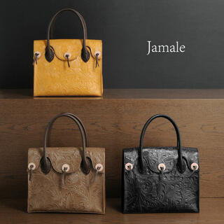 GRACE CONTINENTAL - jamale カービングバッグ