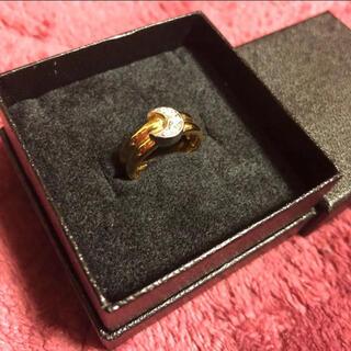 STAR JEWELRY - 美品 スタージュエリー k18 pt900 ダイヤモンド ムーンリング