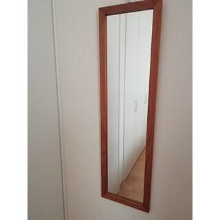 MUJI (無印良品) - 天然木 ミラー 鏡 姿見 壁にかけられる家具 美品
