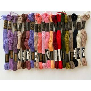 刺繍糸 コスモ 20本セット 02