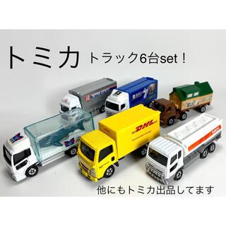 Takara Tomy - 6台set!! [トミカ トラック④]  エネオス、ジンベイザメなど