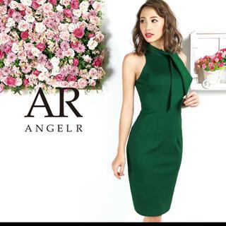 AngelR - エンジェルアールネックリボンニーレングスタイトドレス