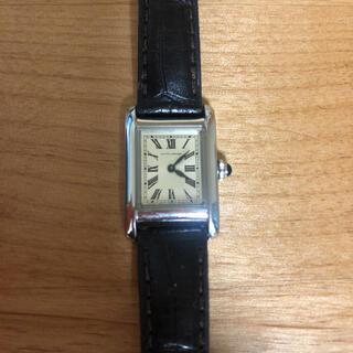 UNITED ARROWS - ユナイテッドアローズ 腕時計 ブラックxシルバー 革ベルト