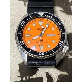 セイコー(SEIKO)のセイコー 7548ー700A SQダイヤル ドーム型風防 漢字曜車 完全OH済み(腕時計(アナログ))