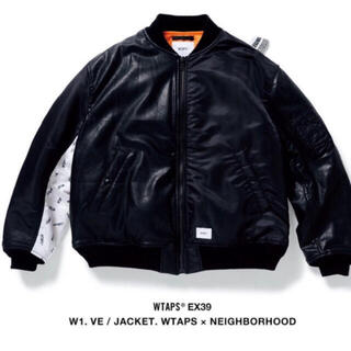 ダブルタップス(W)taps)のW1. VE / JACKET. WTAPS×NEIGHBORHOOD MA-1(ミリタリージャケット)