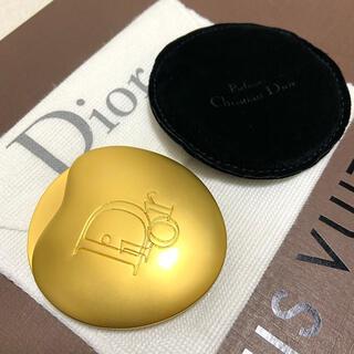 Christian Dior - クリスチャンディオール パフューム マットゴールド コンパクトミラー