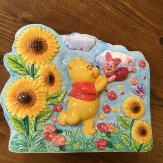 クマノプーサン(くまのプーさん)の未使用✨ pooh   陶器製 小物入れ(置物)