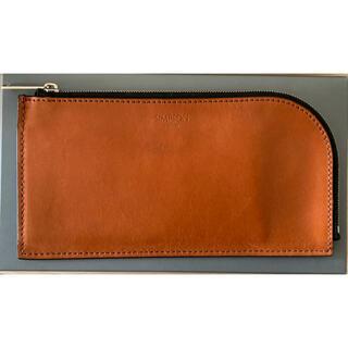 ホワイトハウスコックス(WHITEHOUSE COX)の【週末最終】SIMPSONLONDON Lzip wallet(長財布)