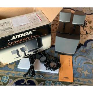 ボーズ(BOSE)の中古美品 BOSE companion3 seriesⅡ PCスピーカー(PC周辺機器)