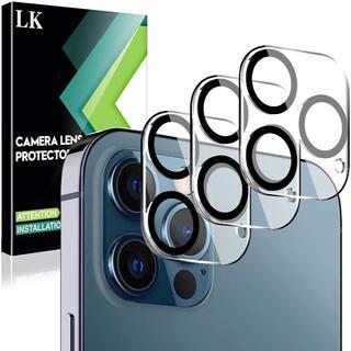 L K【3枚セット】iPhone 12 Pro Max 6.7インチ対応 カメラ(デスクトップ型PC)
