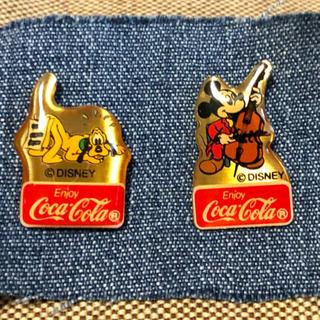 コカコーラ(コカ・コーラ)のディズニー・コカコーラ ピンバッジ(バッジ/ピンバッジ)