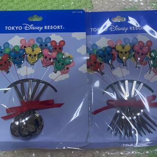 Disney - ディズニー スプーン、フォークセット