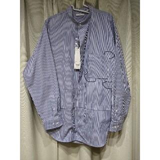 ユニクロ(UNIQLO)の【新品タグ付Lサイズ】+j スーピマコットンオーバーサイズシャツ(長袖)(シャツ)