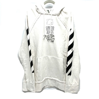 OFF-WHITE - オフホワイト DRIPPING ARROWS HOODIE パーカー ロゴ