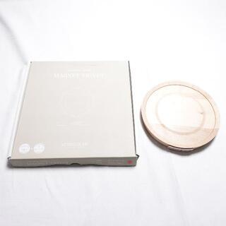 バーミキュラ(Vermicular)の[VERMICULAR] 鍋敷き ホワイト×メープル(鍋/フライパン)
