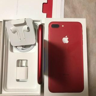 Apple - iPhone 7plus 128GB RED SIMフリー   本体のみ